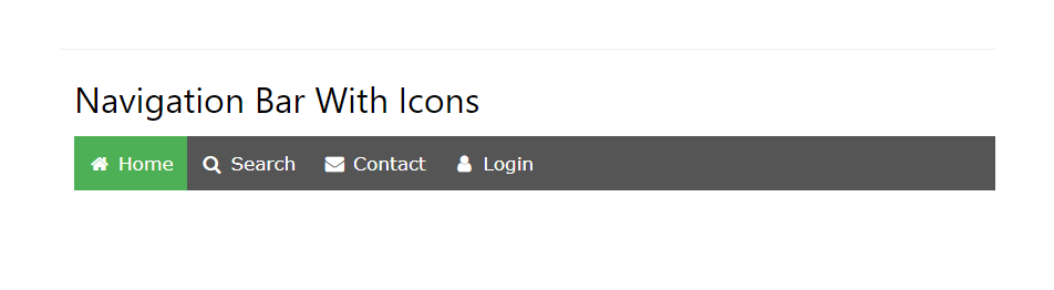 how to use icons and put in your navigation bar