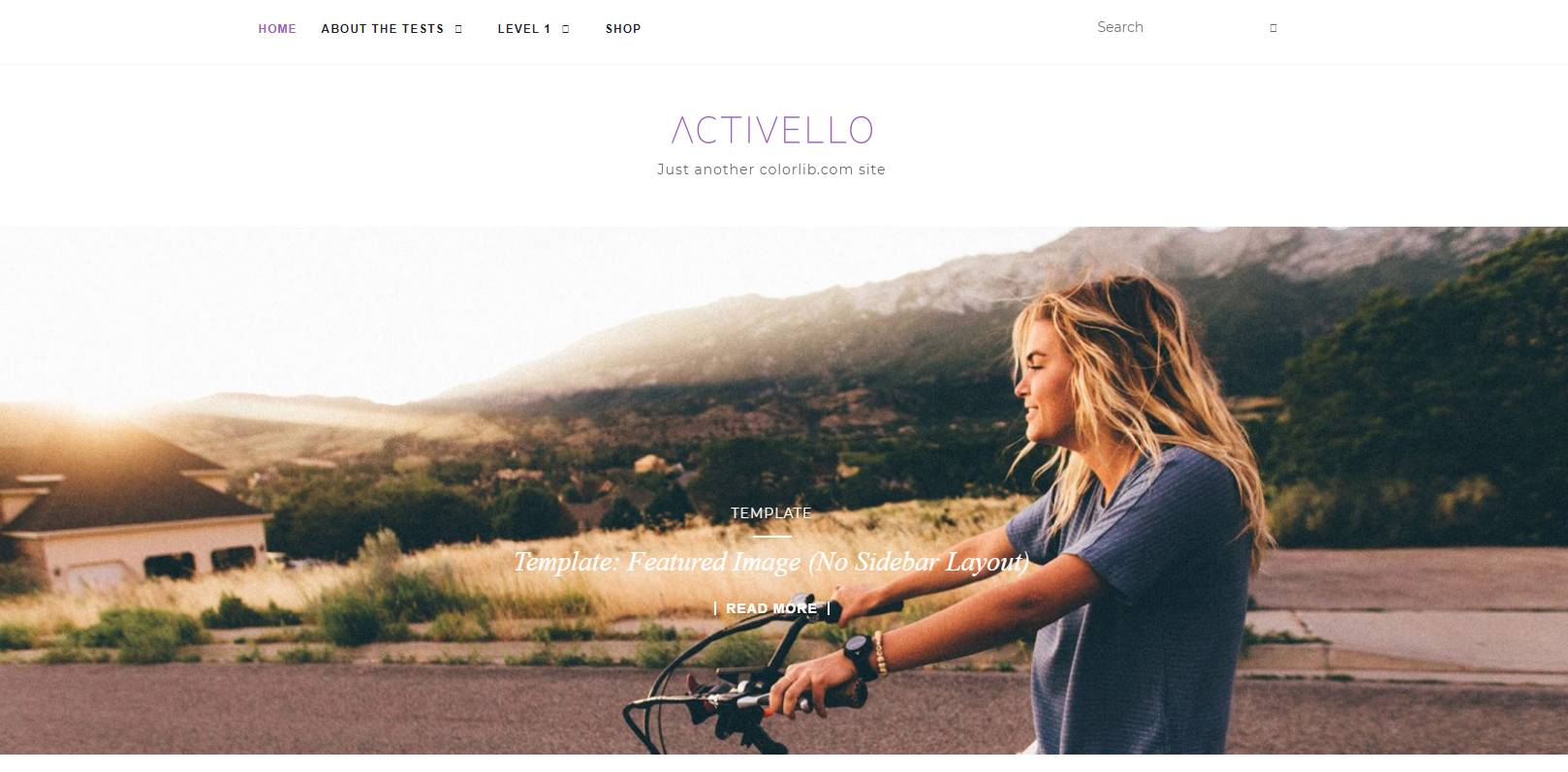 Activello bootstrap web template
