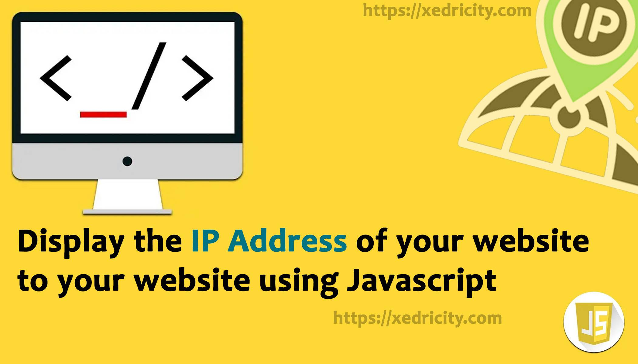 Display the IP address of the user to your website